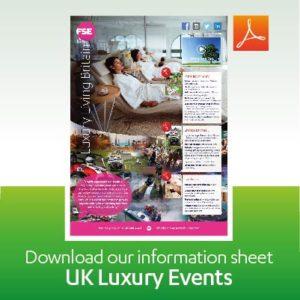 UK Luxury Events