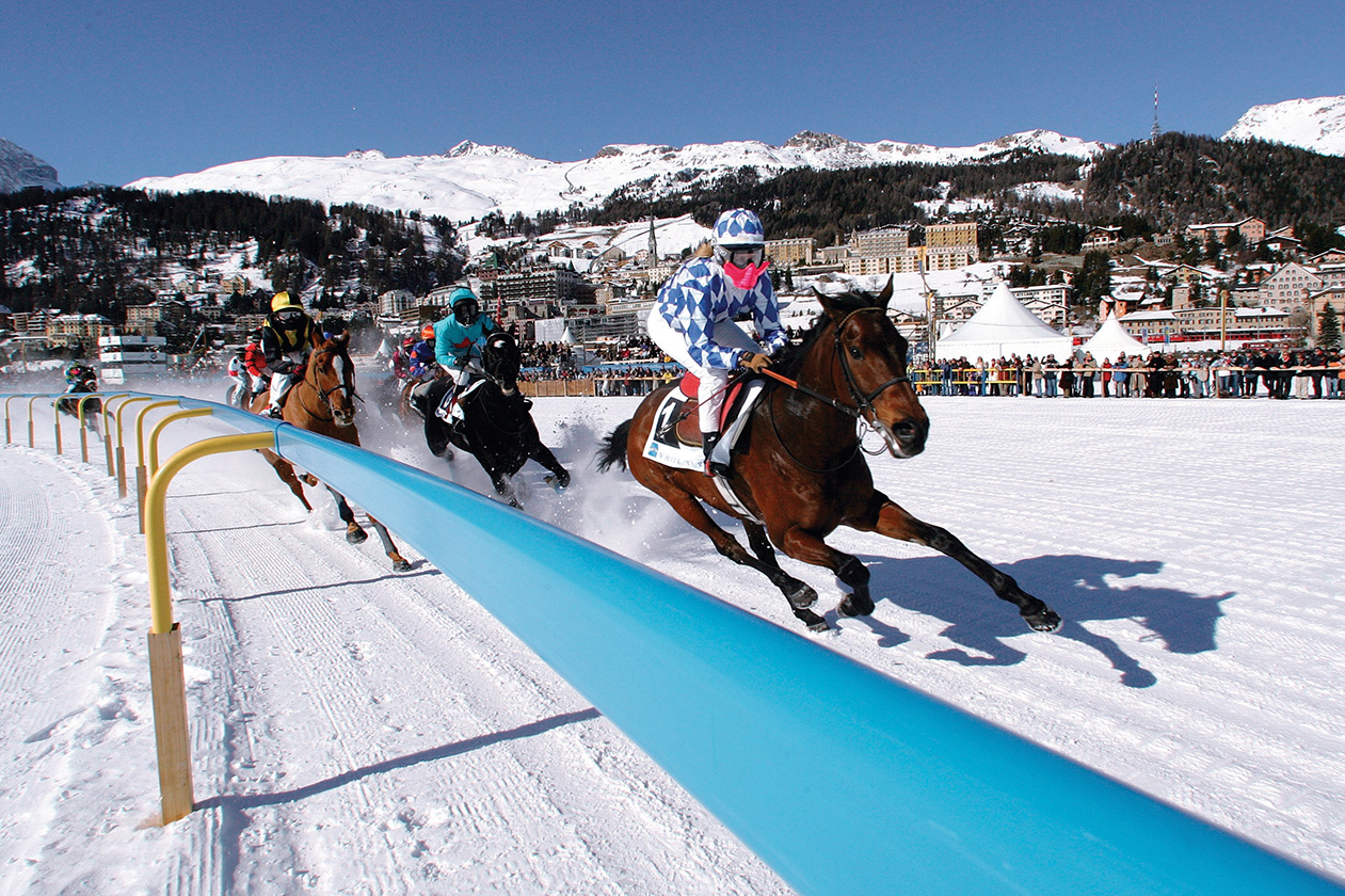 Travel Incentive Destination - Ski Weekend Horse Racing