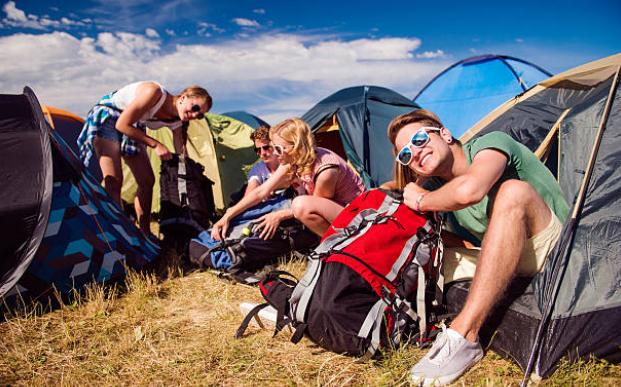 Boardmasters Camping